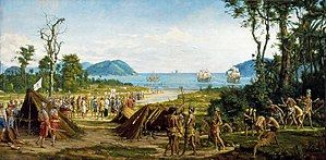 "São Paulo (state) - ""Founding of São Vicente"", by Benedito Calixto"