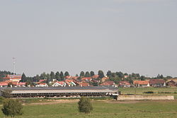 Skyline of Benešov