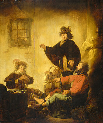 Benjamin Gerritsz Cuyp - Joseph interpreting the dreams of the baker and the butler, Rijksmuseum Amsterdam