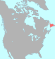 Beothuk language map.png