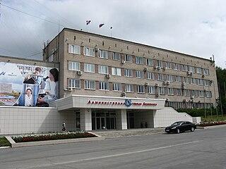 Berezniki City in Perm Krai, Russia