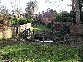 Berkswell - Image: Berkswell the well 1m 08
