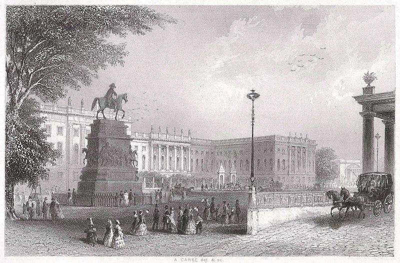 The University of Berlin in 1850.