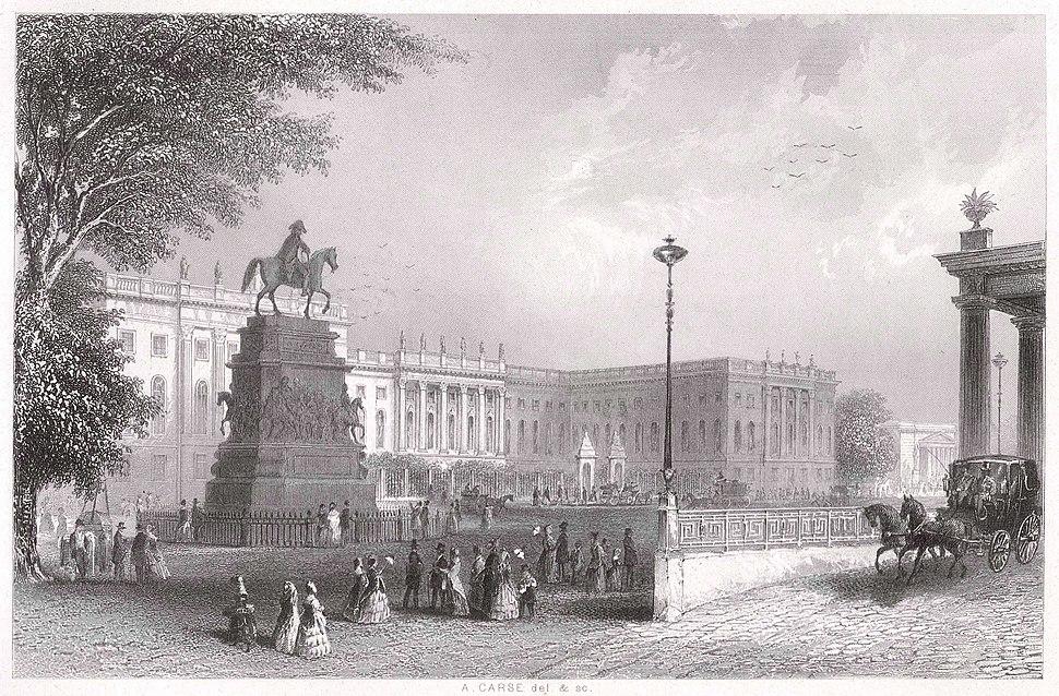 Berlin Universitaet um 1850