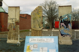 Truro, Nova Scotia - Berlin Wall chunks in Truro