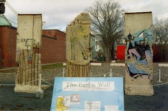 Truro, Nova Scotia - Berlin Wall chunks in Truro