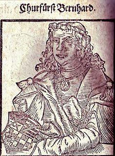 Bernhard, Count of Anhalt