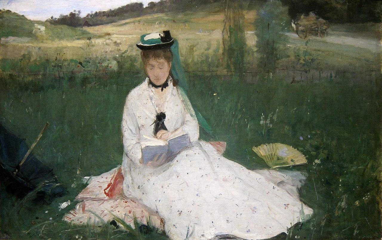 贝尔特·莫里索 Berthe Morisot - 水木白艺术坊 - 贵阳画室 高考美术培训