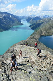 Besseggen Hike, Norway (14673663307).jpg