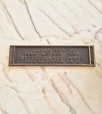 Betty Grable Grave.JPG