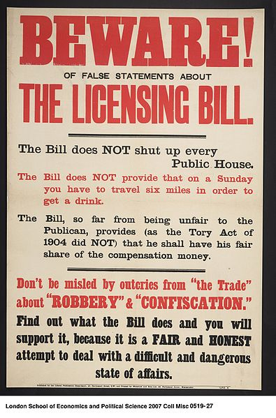 File:Beware of False Statements About the Licensing Bill (22905047115).jpg