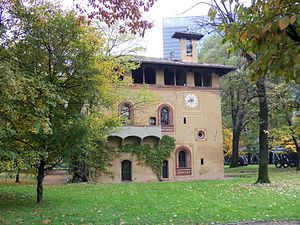Bicocca (district of Milan) - Villa Arcimboldi
