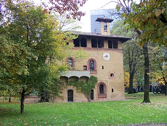 Bicocca (district of Milan) - Villa Arcimboldi