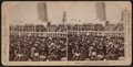 Bidding their friends God-speed, New York, U.S.A, from Robert N. Dennis collection of stereoscopic views.png