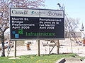 Bilingual construction sign- St. Catharines.JPG