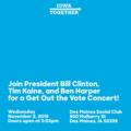 Bill Clinton, Tim Kaine, Ben Harper Get Out the Vote Concert Des Moines (November 2).png