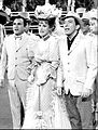 Bill Dana Maureen O'Hara Andy Willians 1965.jpg