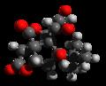 Bilobalide 3d structure.png