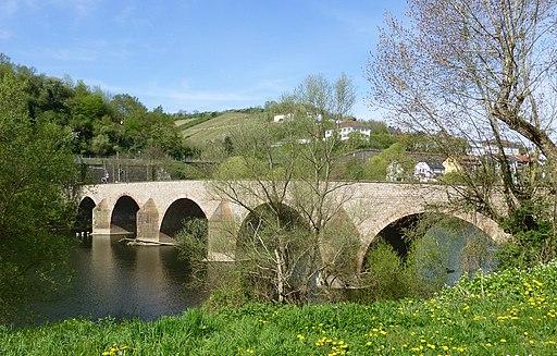 Bingen Drususbrücke 2015