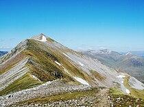 Binnein Mor Ridge.JPG