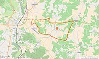 Biron (Charente-Maritime) Limite communale.jpg