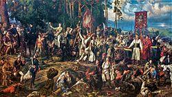 Ян Матэйка: Battle of Raclawice