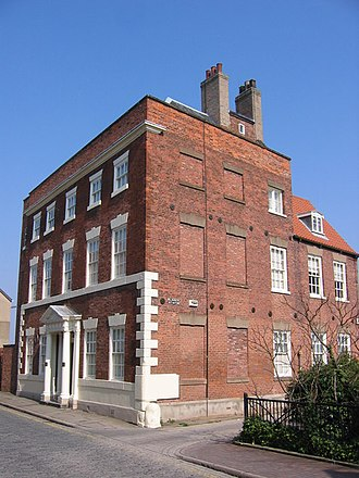 Grade II* listed buildings in the East Riding of Yorkshire - Image: Blaydes House, High Street, Hull geograph.org.uk 376590