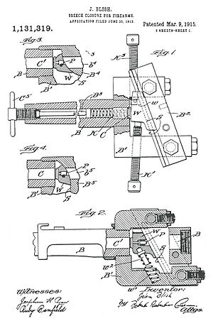 Blish lock - Blish patent
