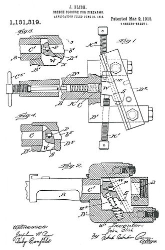 Blish lock - Blish patent