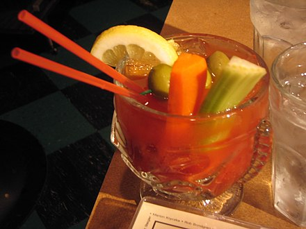 I need a BLOODY MARY, stat!