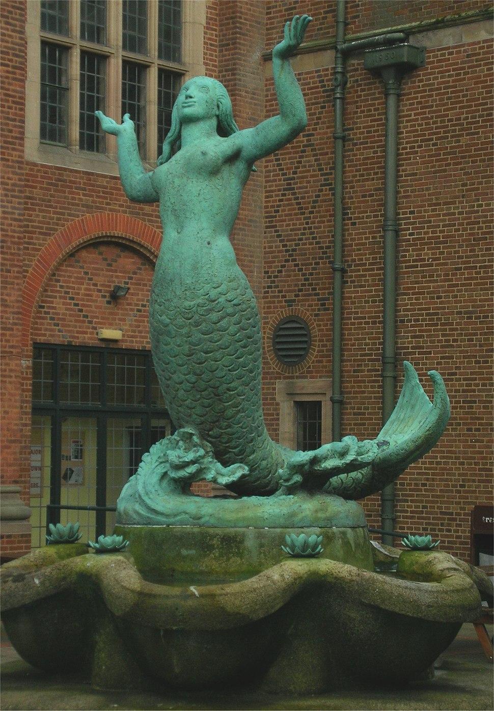 Bloye BUGS mermaid, bronze