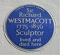 Blue plaque Richard Westmacott.jpg