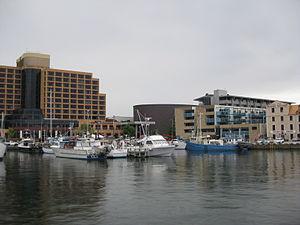 Victoria Dock (Hobart) - Fishing boats at Victoria Dock in November 2010