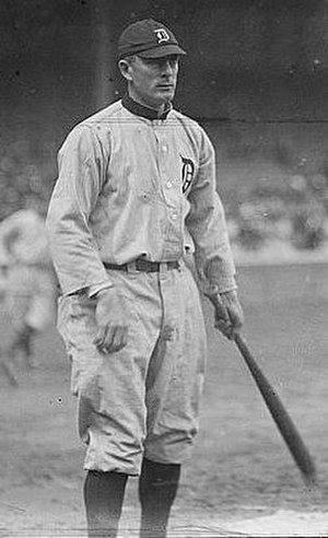 Bobby Veach - Veach with the Detroit Tigers in 1917.
