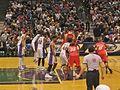 Bobcats inbound vs Bucks 2006.jpg
