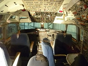 National Museum of Flight - Boeing 707 cockpit
