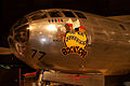 Boeing B-29-45MO Superfortress Bockscar NoseL Airpower NMUSAF 25Sep09 (14413153630).jpg