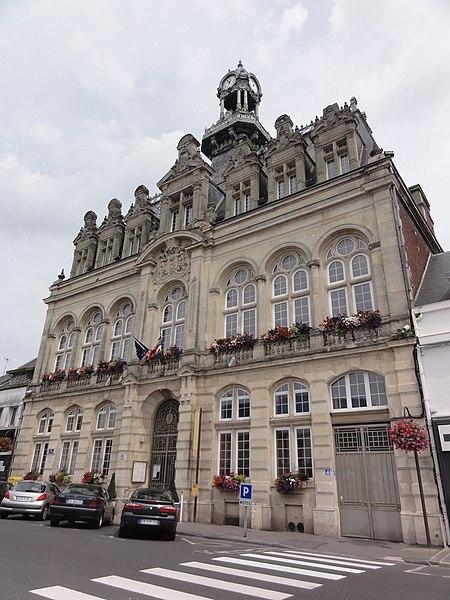 Bohain-en-Vermandois (Aisne) Hôtel de Ville