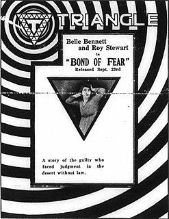<i>Bond of Fear</i> (1917 film) 1917 film by Jack Conway