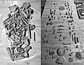 Bones remains from archaeological sites of the Chuch of Santa María de Zamartze 01.jpg