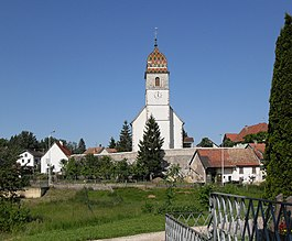 Bonfol - Bonfol village church