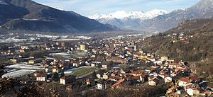 Borgone Susa - Image: Borgone panorama
