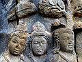 Borobudur - Lalitavistara - 109 E, The Buddha on the Way to Rsipatana (detail 2) (11248758374).jpg