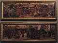 Bottega di paolo uccello, pannelli di cassone con armi medici e rucellai, firenze, 1466 ca. 01.JPG
