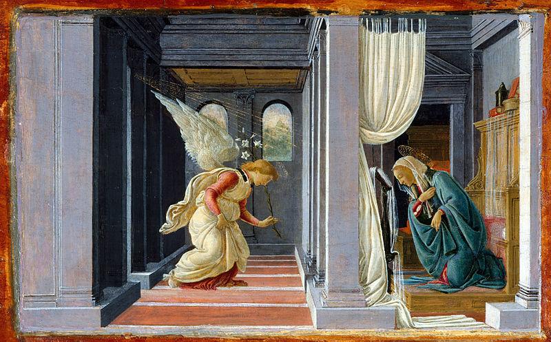Ficheiro:Botticelli, annunciazione del Metropolitan.jpg