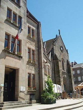 Bourganeuf - Town hall