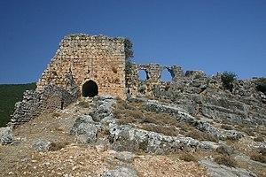 Bourzey castle - Image: Bourzey 3