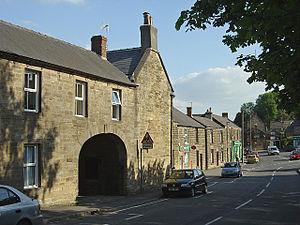 Crich - Image: Bowns Hill Crich