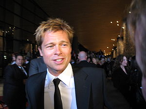 American actor Brad Pitt