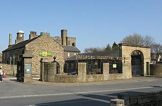 Bradford Industrial Museum - Image: Bradford Industrial Museum entrance 1000